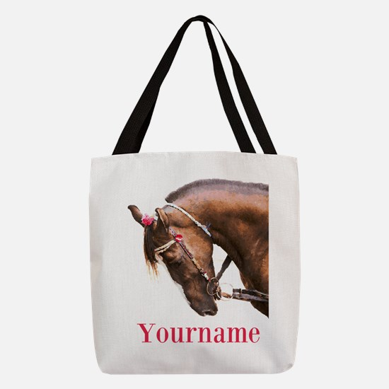 Horse (p) Polyester Tote Bag