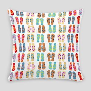 Beach Flip Flops Everyday Pillow