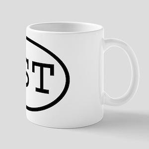 HST Oval Mug