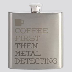 Metal Detecting Flask