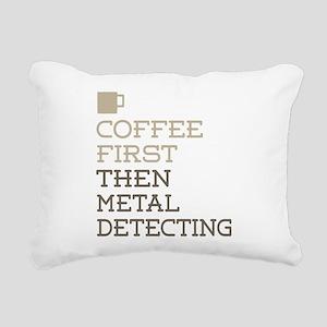 Metal Detecting Rectangular Canvas Pillow
