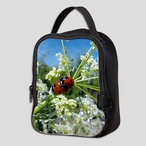 luck beetle Neoprene Lunch Bag