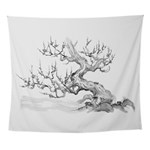 Japanese plum Wall Tapestry
