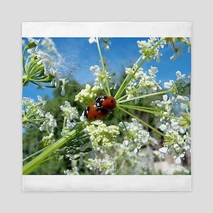luck beetle Queen Duvet