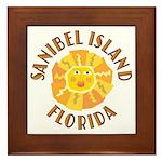 Sanibel Sun -  Framed Tile