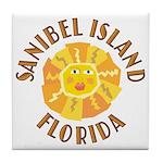 Sanibel Sun - Tile Coaster