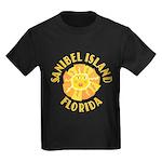 Sanibel Sun - Kids Dark T-Shirt