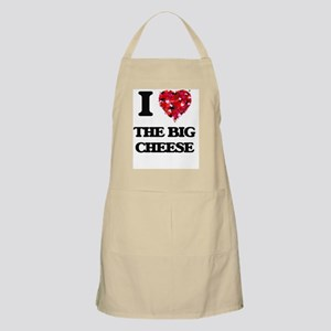 I Love The Big Cheese Apron