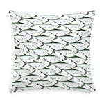 Tarpon Pattern Everyday Pillow