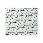 Tarpon Pattern Throw Blanket