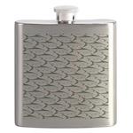 Tarpon Pattern Flask