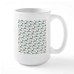 Tarpon Pattern Mugs