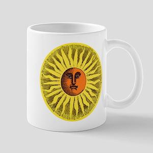 Antique Sun Mugs