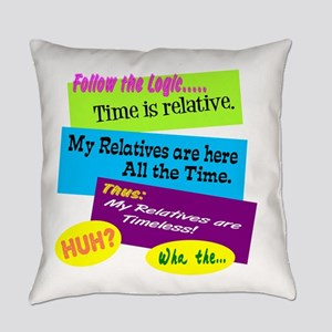 Timeless Relatives Everyday Pillow