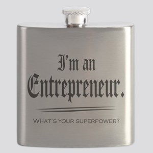 Entrepreneur Superpower Flask