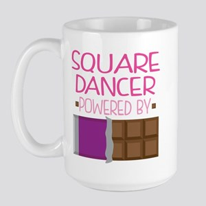 Square Dancer Large Mug