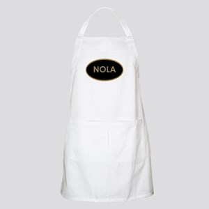 NOLA BLACK AND GOLD Apron