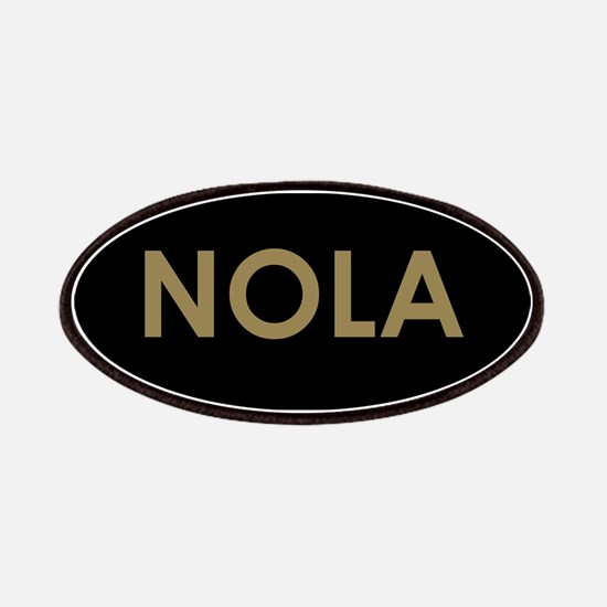 NOLA BLACK AND GOLD Patch
