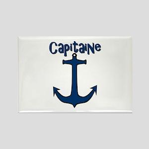 Capitaine ancre de bateau Magnets
