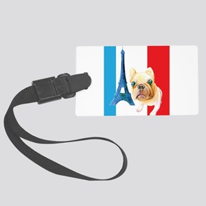 I Love Paris Luggage Tag
