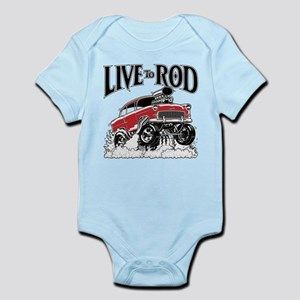 LIVE TO ROD 1955 Gasser Body Suit