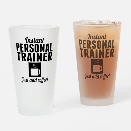 Instant Personal Trainer Just Add Coffee Drinking