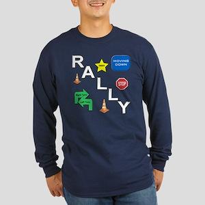 Rally-O Long Sleeve Dark T-Shirt