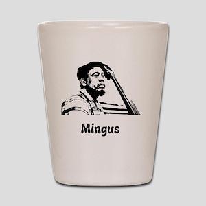 Charles Mingus Shot Glass
