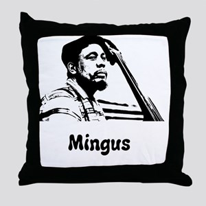 Charles Mingus Throw Pillow