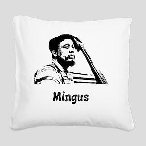 Charles Mingus Square Canvas Pillow