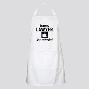 Instant Lawyer Just Add Coffee Apron