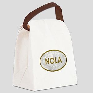 NOLA Stone Canvas Lunch Bag