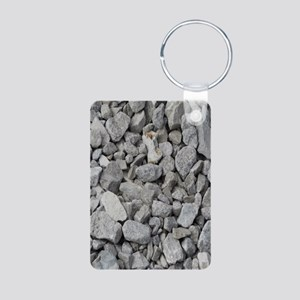 pebbles and rocks Keychains