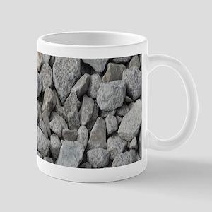 pebbles and rocks Mugs