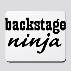 Backstage Ninja Mousepad