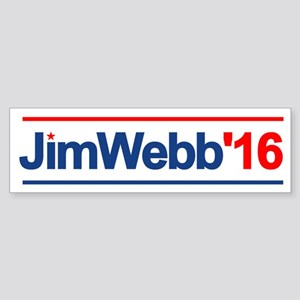 Jim Webb 16 Bumper Sticker
