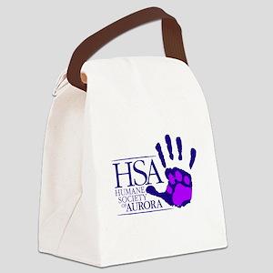HSA Logo Canvas Lunch Bag
