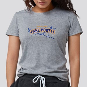 Lake Powell with map coordinates T-Shirt