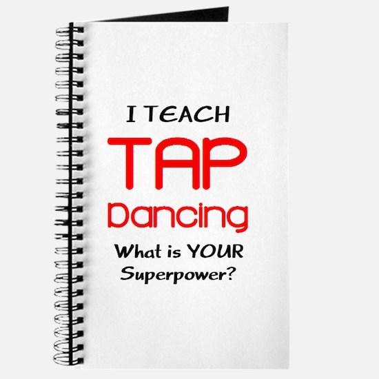 teach tap dance Journal