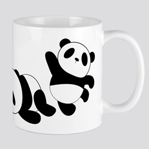 Three little giant pandas Mugs