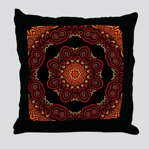Ornate Middle Eastern Medallion Throw Pillow