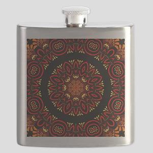 Ornate Middle Eastern Medallion Flask