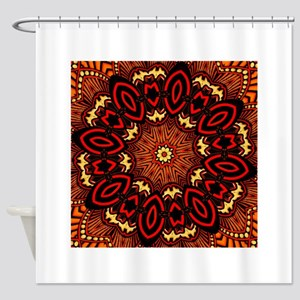 Ornate Middle Eastern Medallion 7 Shower Curtain