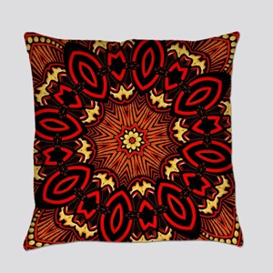 Ornate Middle Eastern Medallion 7 Everyday Pillow