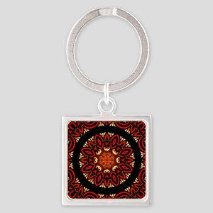 Ornate Middle Eastern Medallion 1 Keychains