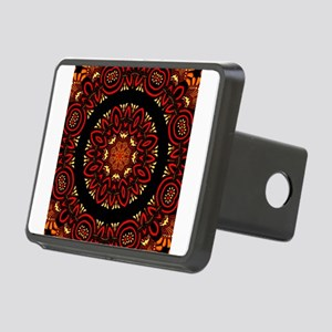 Ornate Middle Eastern Meda Rectangular Hitch Cover