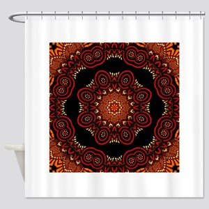 Ornate Middle Eastern Medallion 2 Shower Curtain