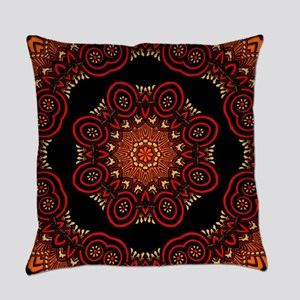 Ornate Middle Eastern Medallion 2 Everyday Pillow
