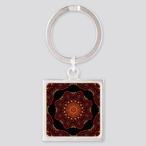 Ornate Middle Eastern Medallion 2 Keychains