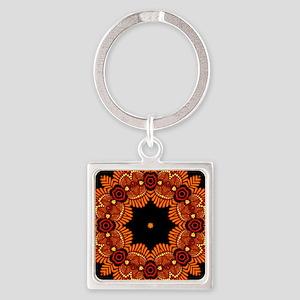 Ornate Middle Eastern Medallion 3 Keychains